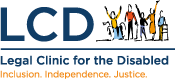 LCD logo - Inclusion Independence Justice