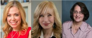 Sheila Hess, Nancy Glass, and Monica Konrad