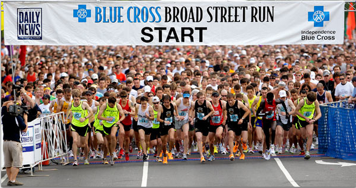 Blue Cross Broad Street Run